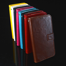 Flip Skin Case For ZTE A601 A 601 leather wallet pouch Cover For ZTE Blade A601 BA601 Case cell phones back Coque Fundas bags