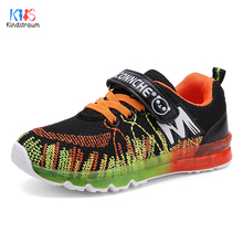 2017 New Children Breathable Active Sneakers Brand Top Quality Boys & Girls Patchwork Anti-Slip Sports Shoes for Kids,EJ025