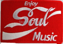 "3.5"" Enjoy Soul Ska Northern Soul Mod Logo Music Band Iron On Patch Heavy Metal Tshirt TRANSFER MOTIF APPLIQUE Rock Punk Badge"