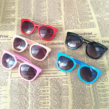 Boys Girls Sunglasses Top Quality Metal Anti-UV Babys Goggles Eyeglasses Kids Candy Colors Protect Sunglasses 099