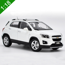 Brand New 1:18 US GM Chevrolet TRAX 2013 SUV Alloy Diecast Car SUV Model For Adult Gifts Collection Original Box Free Shipping(China)
