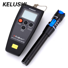 KELUSHI FTTH 2 in 1  Fiber Optical Tool fiber optical power meter with 1mW visual fault locator fiber optical cable tester Meter