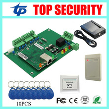 Good quality door access control board one door access control panel with RFID card reader and card register time attendance