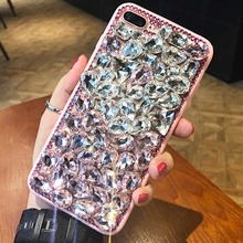 Buy Bling Diamond Case capa Apple iPhone X 8 Plus 7 plus 7 4 4s 5 5c 5s se 6 6s plus crystal rhinestone fox sexy Coque Fundas for $8.99 in AliExpress store