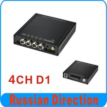 4CH D1 Mobile DVR, use HDD memory. model BD-303A