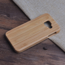 Real Wood Bamboo Case For Samsung Galaxy A3 2016 A3100 A310 A310F Naturel Wooden Handmade Back Shell Phone Cover Coque Panda