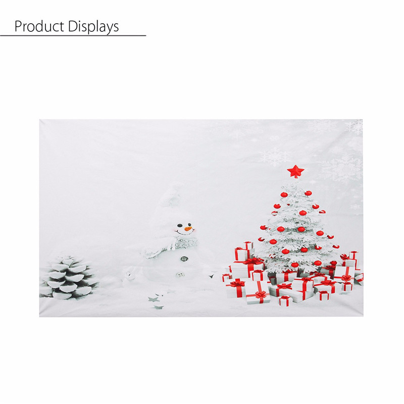 3x5FT Vinyl Photography Background Christmas Snow Theme Photo Props Studio Backdrop 90x150cm new light weight<br><br>Aliexpress