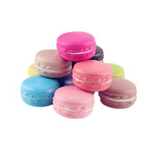 1PC Random Color Kawaii Soft Dessert Macaron Squishy Cute Toys Pretend Kitchen Toys Artificial Macaroons Toys