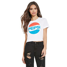 2016 Latest Short Sleeve T Shirt Women Summer Fashion Crop Top Cheap Advertising Shirts Young Girls T Shirt