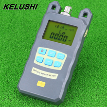 KELUSHI Fiber Optic Optical Power Meter Cable Tester Networks With FC/SC connectors -70~+10dBm(China)