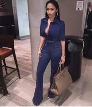 Popular Plus Size Denim Jumpsuit Buy Cheap Plus Size Denim Jumpsuit