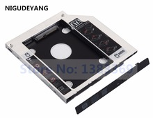 NIGUDEYANG 2nd SATA SSD HDD Hard Drive Tray Caddy Adapter for Dell Inspiron 15 5567 7537 17 5767