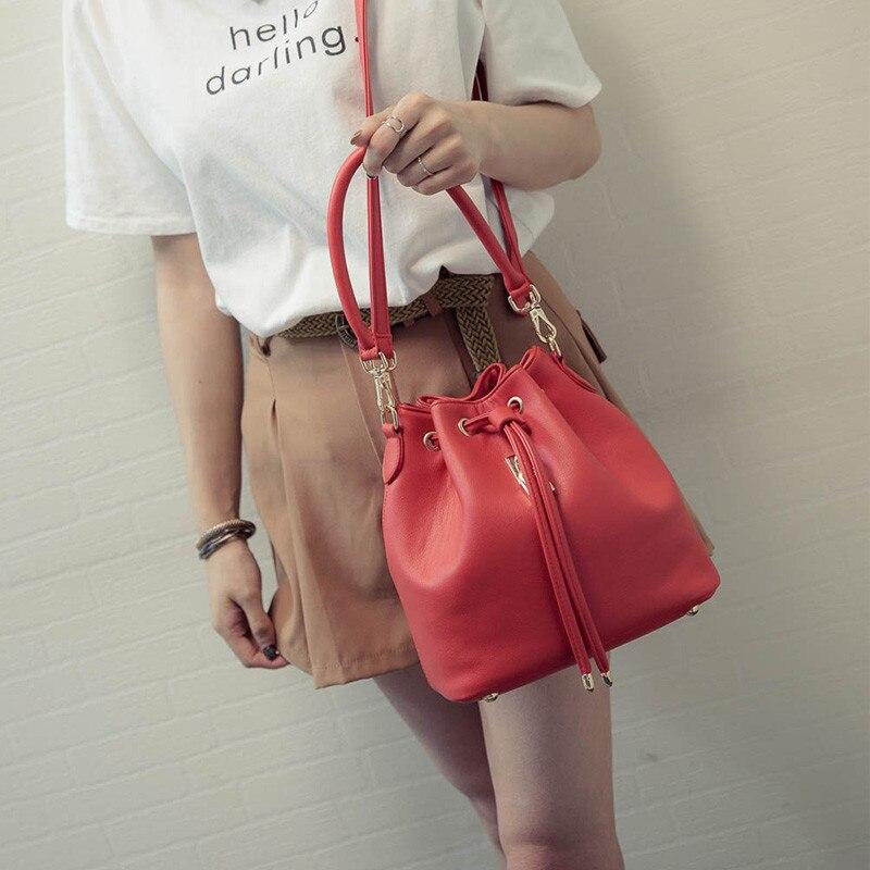 2017 Women Messenger Bags Black a Bag Small Fashion Women Bags Female Pouch Shoulder Handbags 4 Color <br><br>Aliexpress
