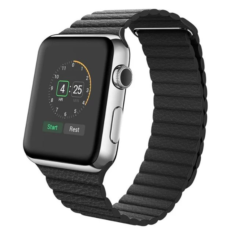 Magnetic Leather Loop Band for Apple Watch Watchband Strap,Wrist Band for Iwatch 42MM 38MM watch band<br><br>Aliexpress