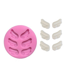 Angel wings Christmas wedding decoration Silicone Mould Fondant Sugar Craft Molds DIY Cake baking tools