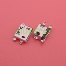 50pcs Micro USB 5pin heavy plate no side with hole Flat mouth Female Connector For Mobile Phone Mini USB Jack(Hong Kong)