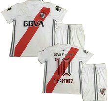 17 18 kids RIVER PLATE Home soccer Jersey Kits TEO D,ALESSANDRO BALANTA CAVENAGHI VANGIONI AWAY red child Football shirts(China)