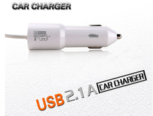 2.1A Dual USB Mobile Phone Car Charger Lighter Charger For Samsung I9500 Galaxy S4 S3 S2 S5 S6/J1/S5 Active