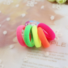 About 100 pcs/pack 3cm Candy Colour Basic Rubber Band Children Kids Elastic Hair Band Baby Girls Hair Rope Accessories kk1522