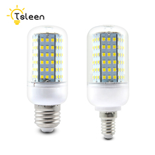TSLEEN 10Pcs E27 E14 Lampada Led Lamp 5W 7W 9W 11W 15W Led Corn Bulb 220V Chandelier Candle Led light Spotlight Energy Saving(China)