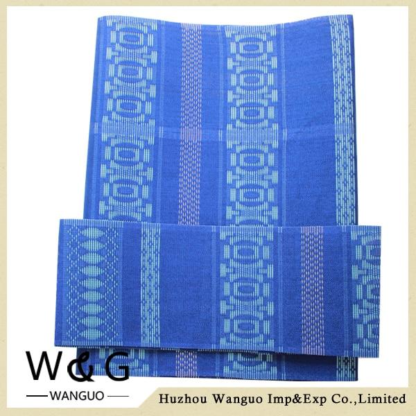 Free shipping!new design!HOT!3pcs/bag,Nigeria aso oke head ties with gold thread.Top class African aso-oke headtie.BLUE.WG054<br><br>Aliexpress