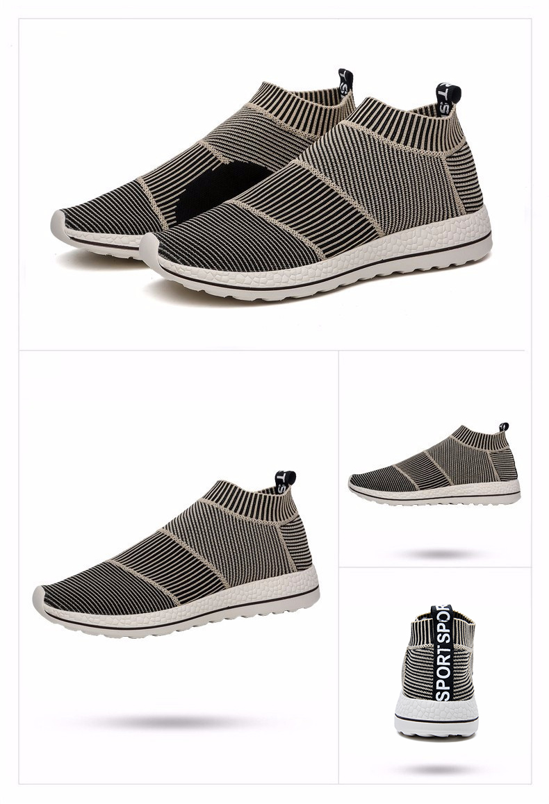 Hot Sale Breathable Men Shoes Mesh (air Mesh) Superstar Sneakers Light Flats Mens Loafers Casual Slip on Male Chaussure Homme 11