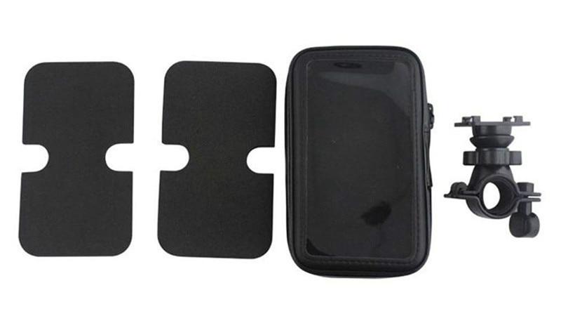 Fimilef Motorcycle Bike Ride Phone Waterproof Bag Case Adjustable Holder Handlebar Mount Dustproof Bag Navigation Phone Stand (7)