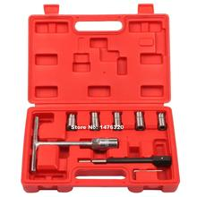 7PCS Universal Automotive Laser Diesel Injector Seat Cutter Cleaner Tool Kit AT2039