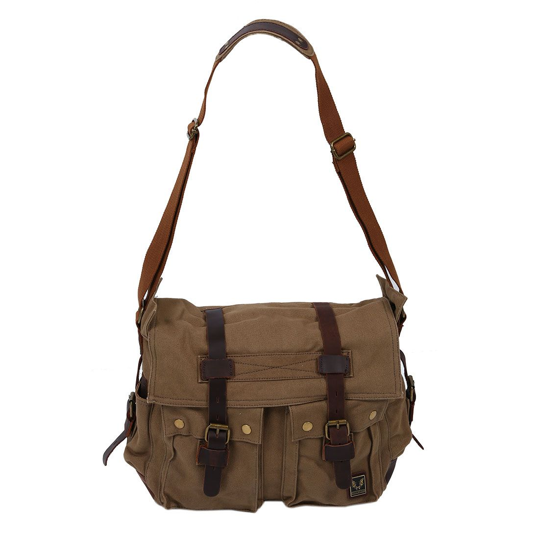 6f39ce9c575d ... Men s Canvas Bag Note Light shooting and different displays may cause  the color of the item in the picture a little different from the real thing.