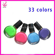 3 Bottle/LOT New Nail Polish/stamp polish Wholesale price 33 colors Optional 10ml Konad Stamping Nail Art varnish