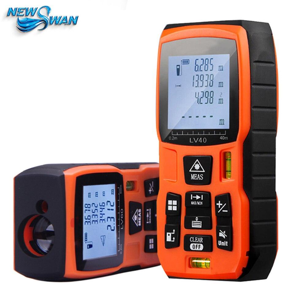Laser Rangefinder 40m 50m60m 80m 100m120m Digital Laser Distance Meter Battery-powered Laser Range Finder Tape Distance Measurer<br>