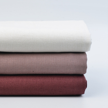 High quality simple fashion style hemp linen cotton blend fabric garments clothes table cloth DIY in Spring 50*135cm W300067(China)