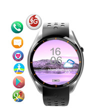 I3pro touch screen smart watch MTK6580 support 3G wifi Bluetooth Heart Rate Pedometer google play support Android5.1 watch phone(China)