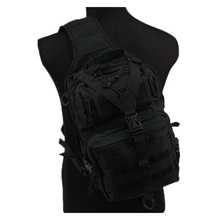 Tactical Molle Utility Gear Sling Bag Backpack Black OD ACU Camo Woodland L hiking backpack