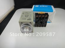 12V Power on delay timer time relay 0-3 minute 3m & Base