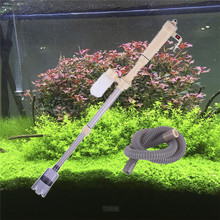 Aquarium Gravel Cleaner Battery Powered Fish Tank Vacuum Syphon Siphon Cleaner Pump Water(China)