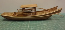 LOVE MODEL Free shipping Scale 1/25 ancient Classic cruises model kits The West Lake pleasure-boat model(China)