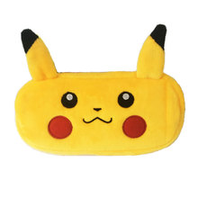 Anime Pokemon Plush Pencil Case for Girls Boys Kawaii Cute Bts Stationery Big Pencil Bag Pencils Box School Accessories