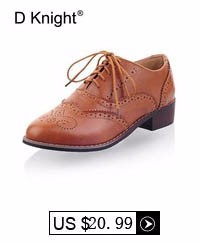 Women Oxfords New Vintage Pu Lace Up Flat Oxfords For Women Big Size 34-43 Ladies Casual Flat Oxford Shoes Carved Brogue Oxfords