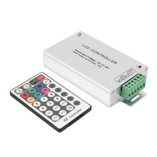 Lighting Accessories RGB Controler RF Wireless Remote 28 Keys 12-24V 3 Channels LED Controller for RGB LED Strips Light(China)