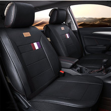 car seat cover seats covers leather for ford limited mondeo 3 4 mk3 mk4 mustang ranger territory 2005 2004 2003 2002(China)