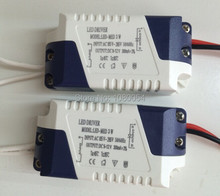 High Power 3W led driver AC85-265v 300MA 1-3W Driver For LED Bulb Light Downlight Lighting Transform diy 3 years warranty