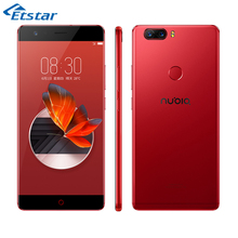 Original Nubia Z17 5.5'' Smartphone Snapdragon 835 Octa Core 6GB 64/128GB NFC 23.0MP+12.0MP Rear Cameras Android 7.1 Google play(Hong Kong)
