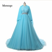 Muslim Wedding Dress robe de mariee Real Handwork Pictures Ball gown Long Sleeve Beaded Lace Tulle Wedding Gowns DB28102