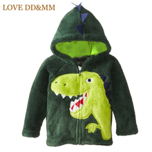 Hot Sale 2017 Children's Clothing Boys Girls Dinosaur Hoodie Fleece Cartoon Dog Kids Sweaters Jackets Baby Coats Clothes(China)