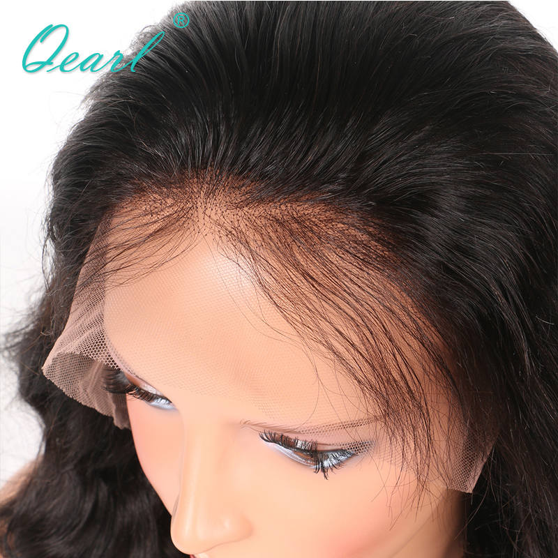 Full Lace Wig With Pre-Plucked baby Hair