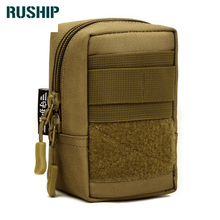 Hot Military Equipment Molle Accessories Multi Function Waist Pack Camouflage Waterproof Nylon Mobilephone Bag Flyye Small Pouch
