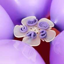 APRICOT 1PCS Party Ballons Decoration Accessory Plum clip 5 in 1 Tool for Ballons wedding decoration supplies