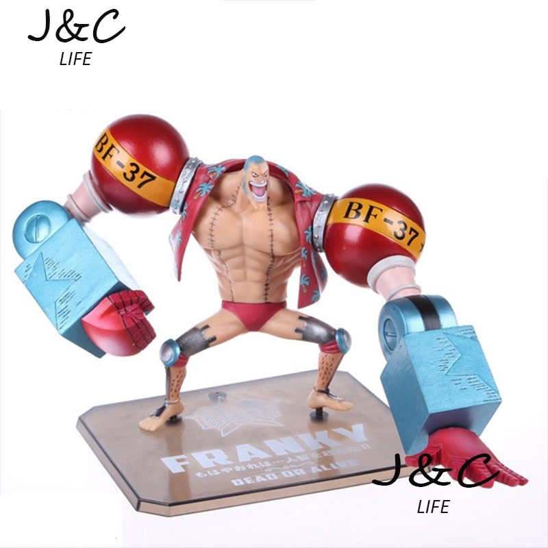 Free Shipping High quality Japanese Anime 18cm One piece FRANKY Action Figure Model Toys For gifts<br><br>Aliexpress