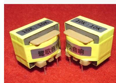 1PCS 10K: 10K audio signal isolation transformer frequency response 20Hz ~ 180KHz -0.8DB<br>